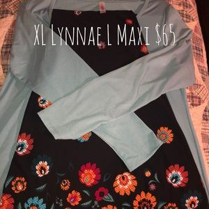XL Lynnae w/ L Maxi Skirt